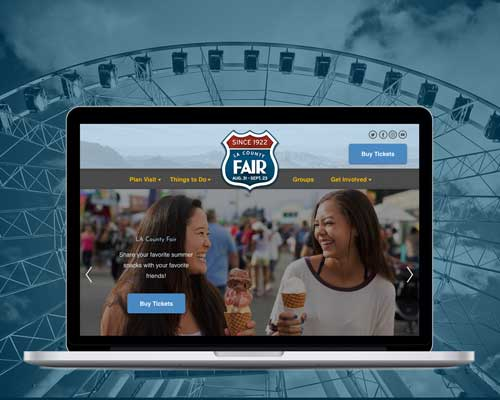 LA County Fair website case study