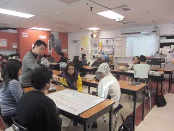 Teaching in my classroom